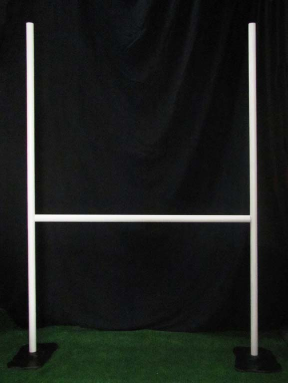 Rugby Posts,Bases & Cover (2.3m high x 1.7m wide) Adjustable bar height      (1 m , 1.3 m , 1.6 m )