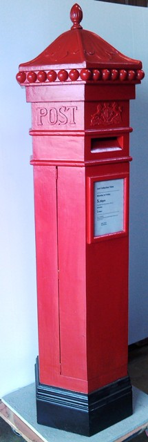 Post Box for Letter English (2m x 0.7m)