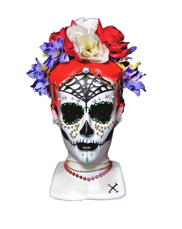 Katalina Day Of The Dead Head White