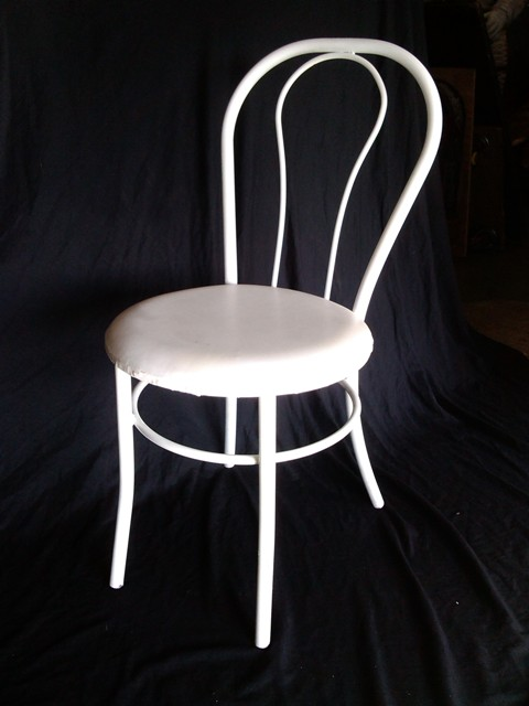 Superbe Chair Dining Bentwood White/Blue (10 In Stock)