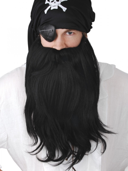 Pirate Beard Jumbo Black