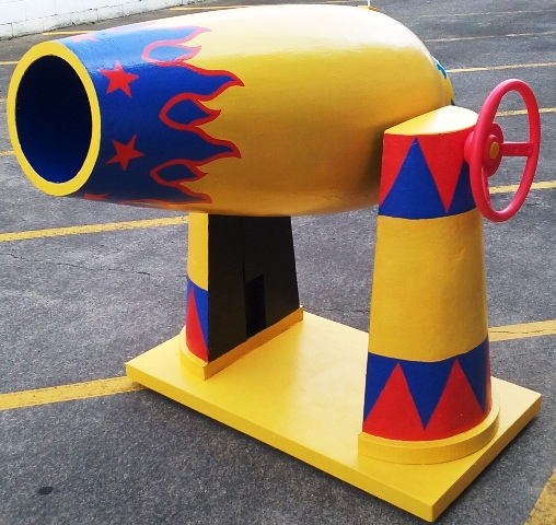 Circus Cannon (1.3m x 1m)