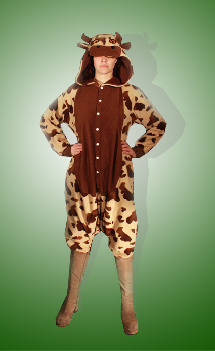 Brown Cow Onesie