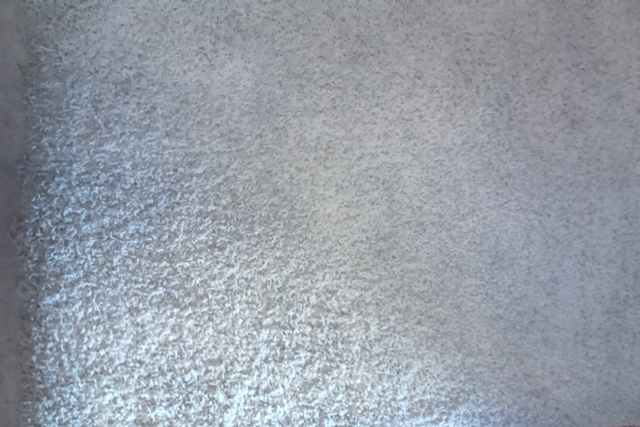 White Shag Carpet (2.4 x 2.3m)