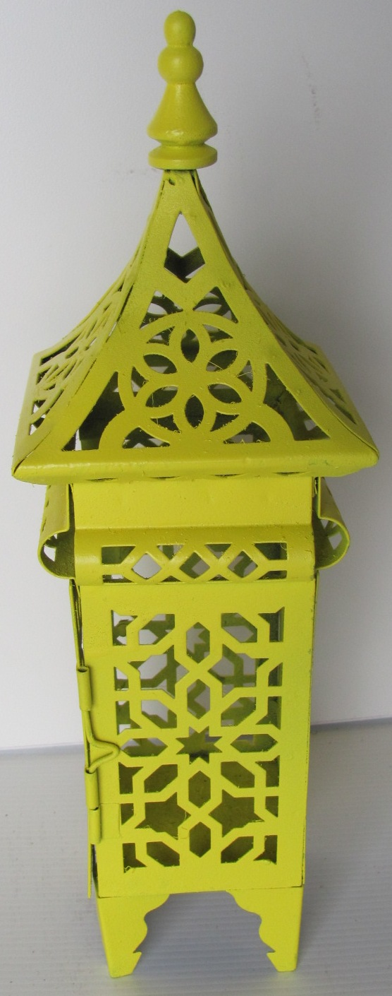 Day Of The Dead Lantern Yellow