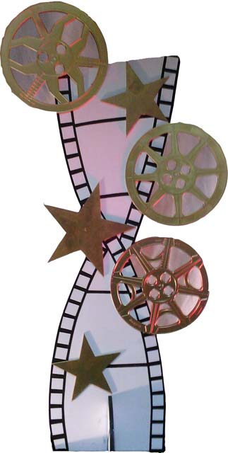 Film Reel Cut Outs