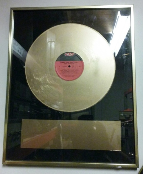 Gold Record Award (52 x 42cm)