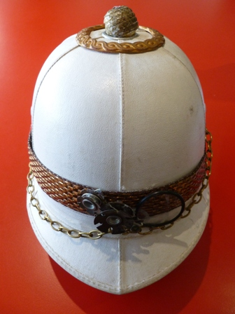 Pith Helmet Steampunked