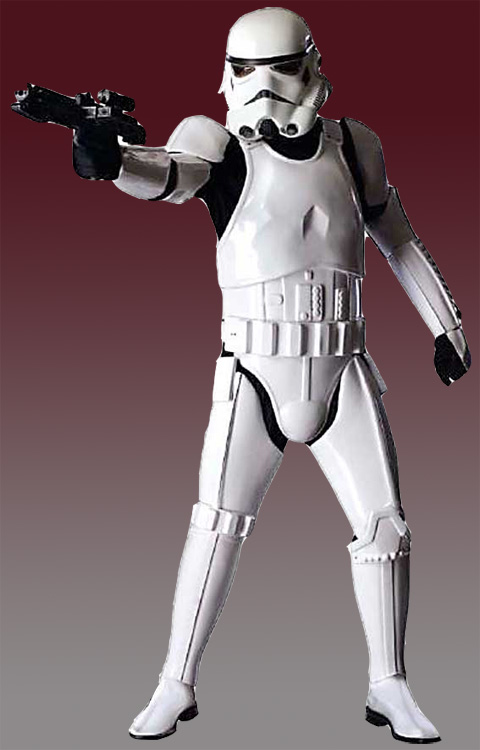 Storm Trooper *DELUXE version shown is for EVENT HIRE ONLY basic options are also available